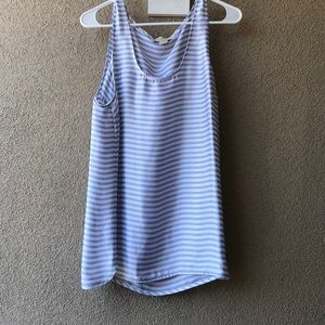 MICHAEL Michael Kors Silky Striped Tank XL